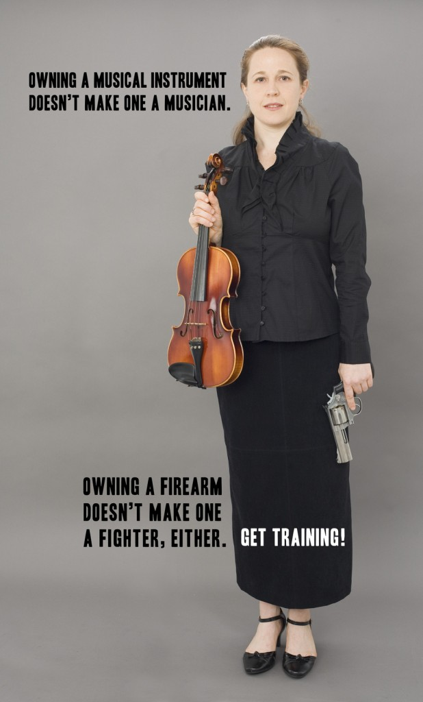Owning a violin does not make me a musician.