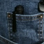 Small pocket, small flashlight. A match made in heaven.