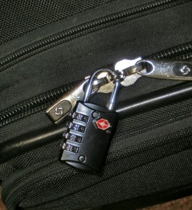 Suitcase locks aren't only for suitcases! Try one on your makeup and pill case, gun rug or range bag.